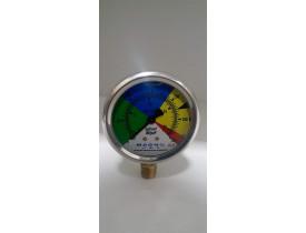 manometro - pressão 0 a 300 LBF
